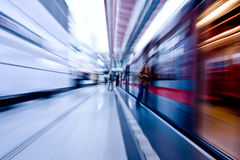 Subway speeding by Stock Photo