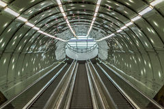 Subway stair Royalty Free Stock Images