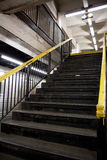 Subway stairs Royalty Free Stock Photos