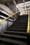 Subway Stairs Royalty Free Stock Photos