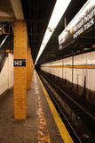 Subway Station. Platform stock photography