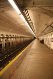 Subway Station. Platform royalty free stock images