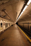 Subway Station. Platform royalty free stock photo