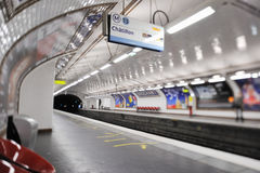 Subway Station Royalty Free Stock Photos
