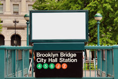 Subway Station Royalty Free Stock Photo