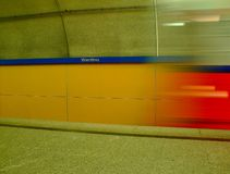 Subway station Stock Photography