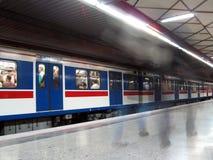 Subway station Royalty Free Stock Photo