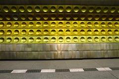 Subway station background Stock Images