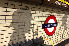 Subway station -Baker Street tube station Stock Image