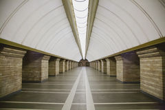 Subway station in a big city Stock Images