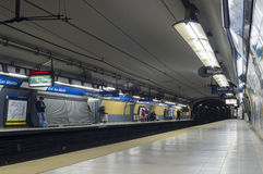 Subway station, buenos aires, argentina Stock Photo