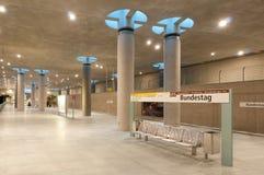 Subway station Deutscher Bundestag Stock Photo
