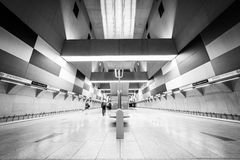 Subway station interior Royalty Free Stock Images