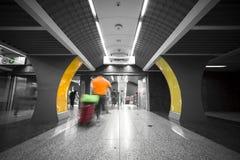 Subway station interior Royalty Free Stock Photography