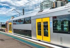 Subway station interior in Sydney, Australia Royalty Free Stock Photography