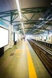 Subway station in Kuala Lumpur,Malaysia Stock Images