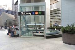 New York City Subway Station Stock Images