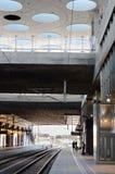 Subway station. Modern subway station in Hyllie, Sweden Stock Photo