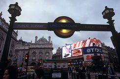 Subway station, Piccadilly Circus, London Stock Image