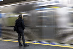 Subway station Royalty Free Stock Image