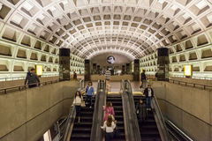 Subway Station in Washington Stock Image