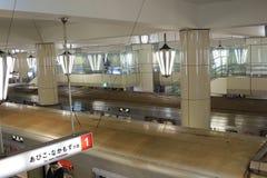 The subway station at  Tennoji Stock Image