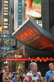 Subway Station in Times Square, New York City Stock Photo