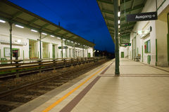 Subway station in Vienna Stock Photography