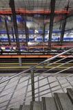 Subway station. View on subway platform Stock Images