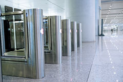 Subway ticket gate design Stock Photography