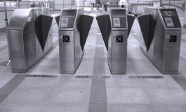 Subway Ticket Machines Stock Photography