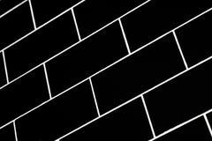 Subway tiles stock photo