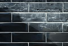 Subway tiles during renovation Royalty Free Stock Images