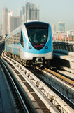 Subway tracks in the united arab emirates Royalty Free Stock Images