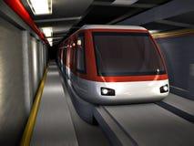 Subway train Stock Images