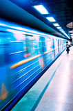 Subway Train Stock Image