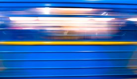 Subway Train Royalty Free Stock Images