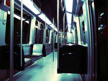 Subway train Royalty Free Stock Photography