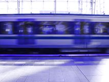 Subway train Stock Photography