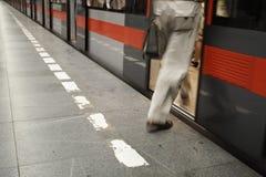Subway train Royalty Free Stock Image