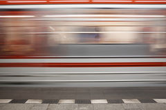 Subway Train Royalty Free Stock Photos
