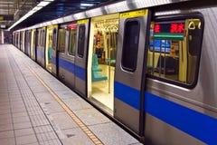 Subway Train Chinese royalty free stock image