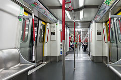 Subway train Stock Images