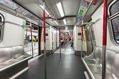 Subway train Royalty Free Stock Photography