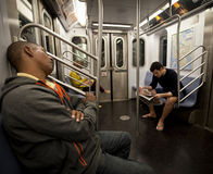 Subway train Stock Photos