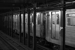 Subway train Royalty Free Stock Photos