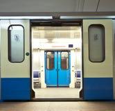 Subway train Royalty Free Stock Photo
