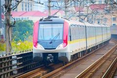 Subway train. Shanghai, China Stock Photography