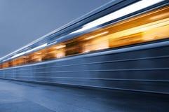 subway train underground Στοκ Εικόνες