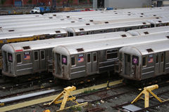Subway trains Stock Photo